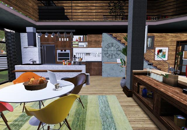 idée décoration maison sims 3