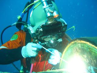 Underwater weld