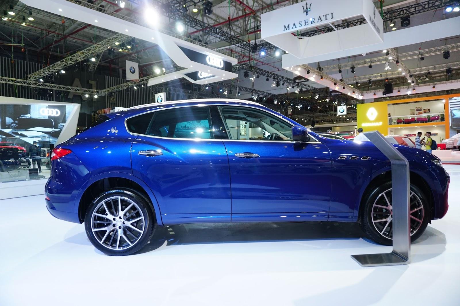 Maserati Levante 2016 là SUV tạo ấn tượng mạnh tại VIMS năm nay