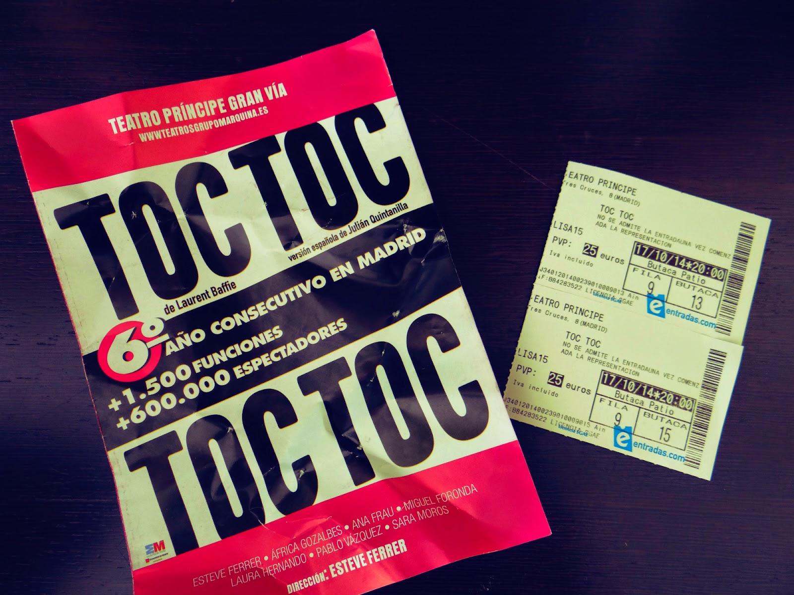 Toc Toc (Teatro Príncipe Gran Vía)