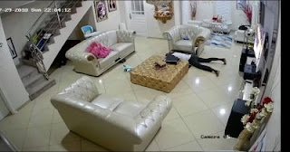 CCTV in Tonto dikeh's house