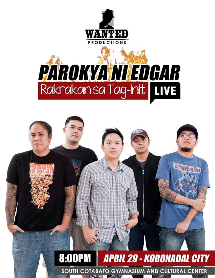 Parokya ni Edgar to rock Koronadal