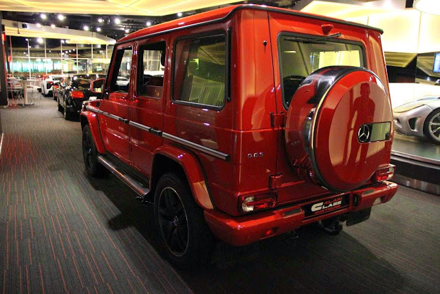 mercedes g63 amg red