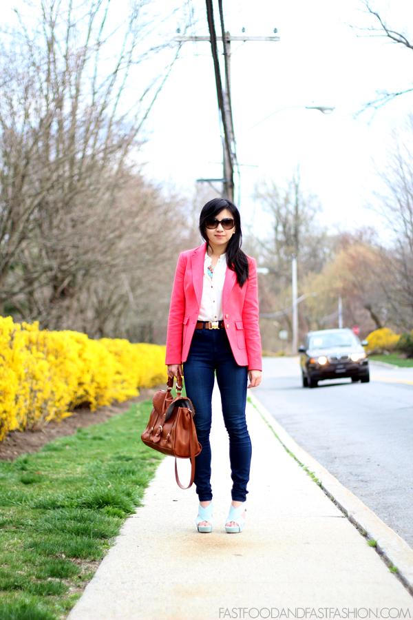A Classic Blazer Jeans Elle Blogs