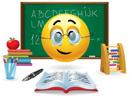 Emoticon teacher