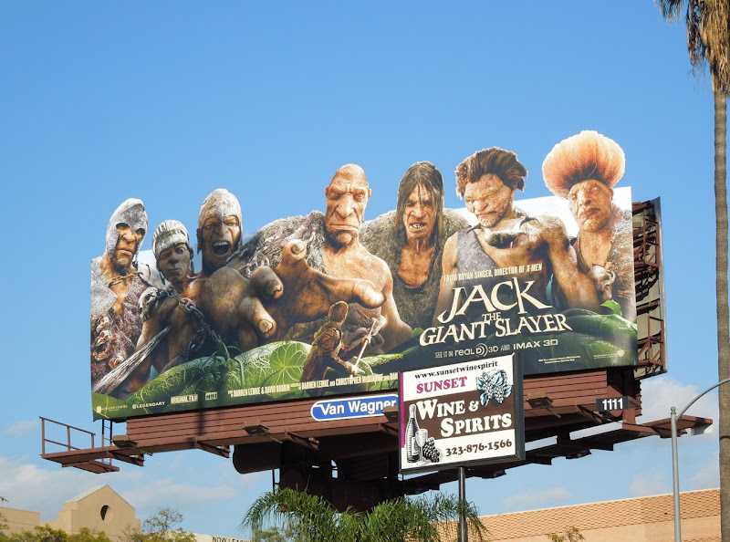 Jack Giant Slayer extension movie billboard