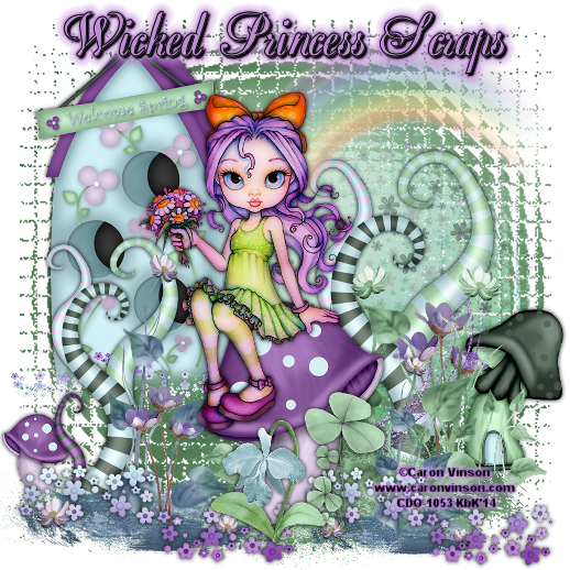 Kaci's Kits and Kadoodles: CT Tag show off... Wicked Princess Scraps ~~ Tasha's Playground ~~