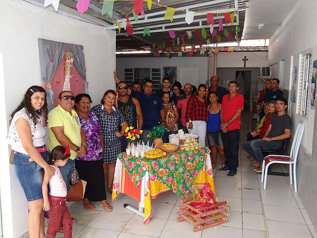 Em comemoração aos festejos juninos, Casa de Apoio de Maceió realiza Arraiá da Alegria