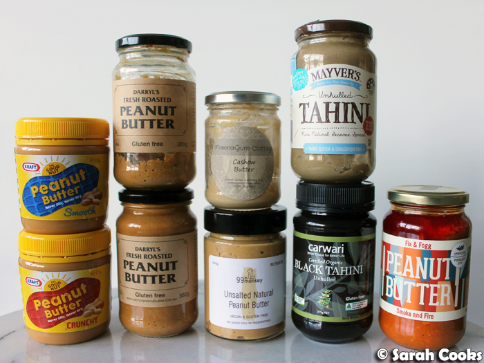 My nut butter collection