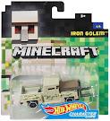 Minecraft Iron Golem Hot Wheels Character Cars Figure
