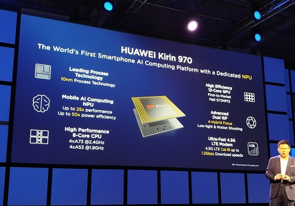 Huawei's AI-Powered HiSilicon Kirin 970 Processor Unveiled at IFA 2017