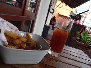Iced Coffee & Potato