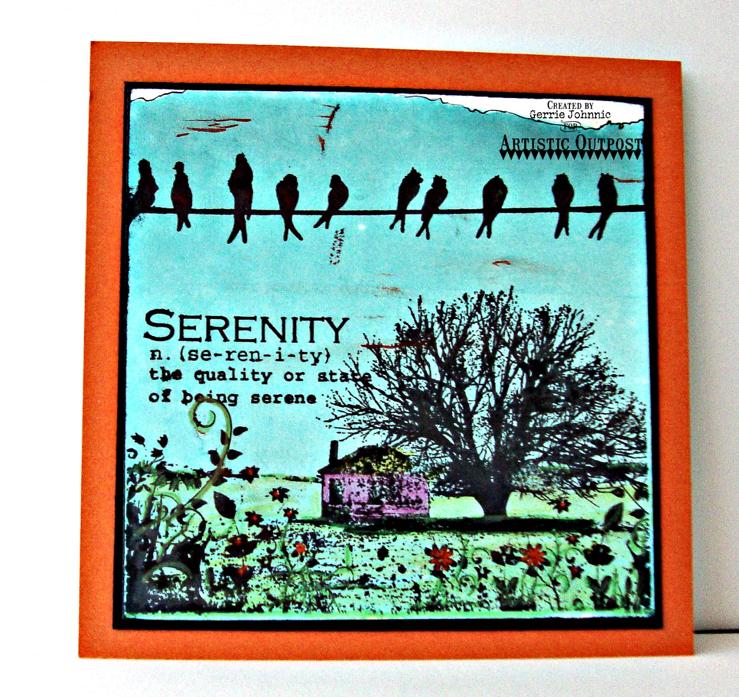 Stamps - Artistic Outpost Serenity, Bluebird