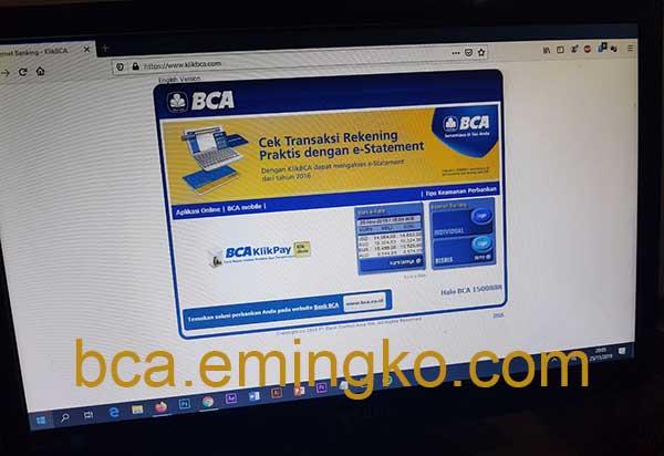 Apakah Tahapan BCA Dapat Fasilitas Internet Banking KlikBCA