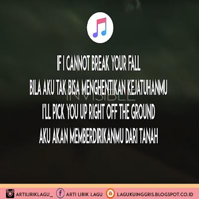 Arti Lirik Lagu Invisible - Linkin Park