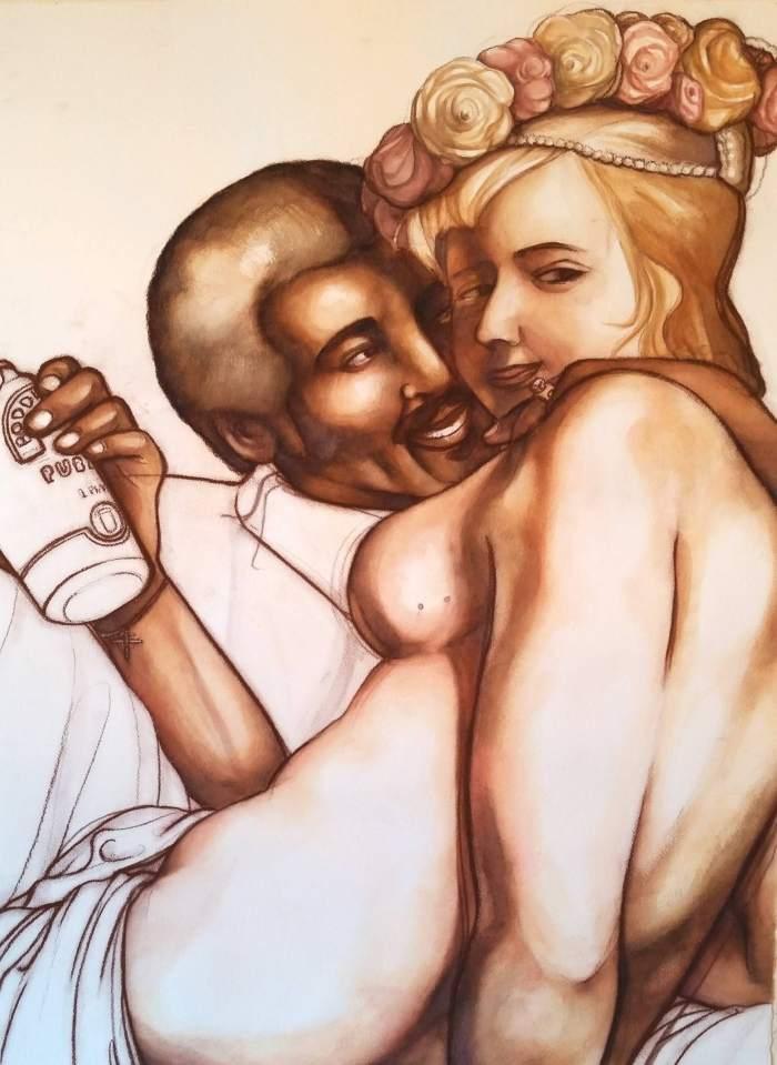 Чёрное искусство. Sean Leake