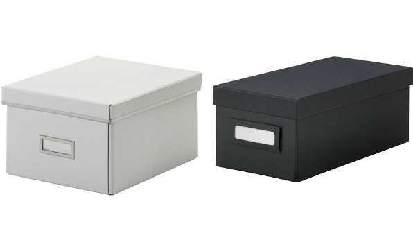 Affordable IKEA storage boxes