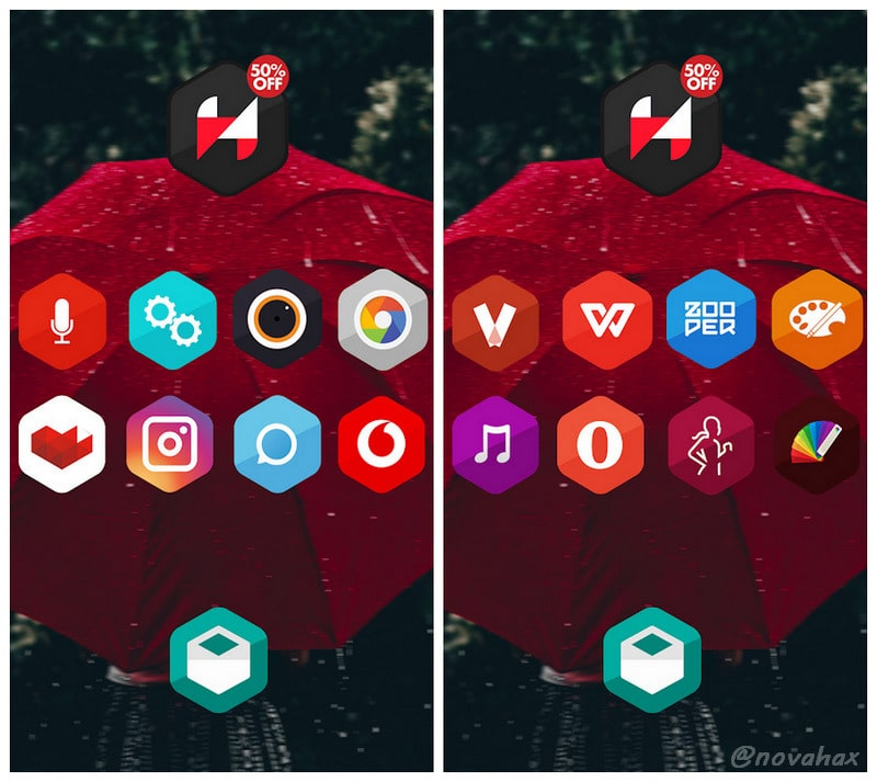 hexagon icon pack pro apk download