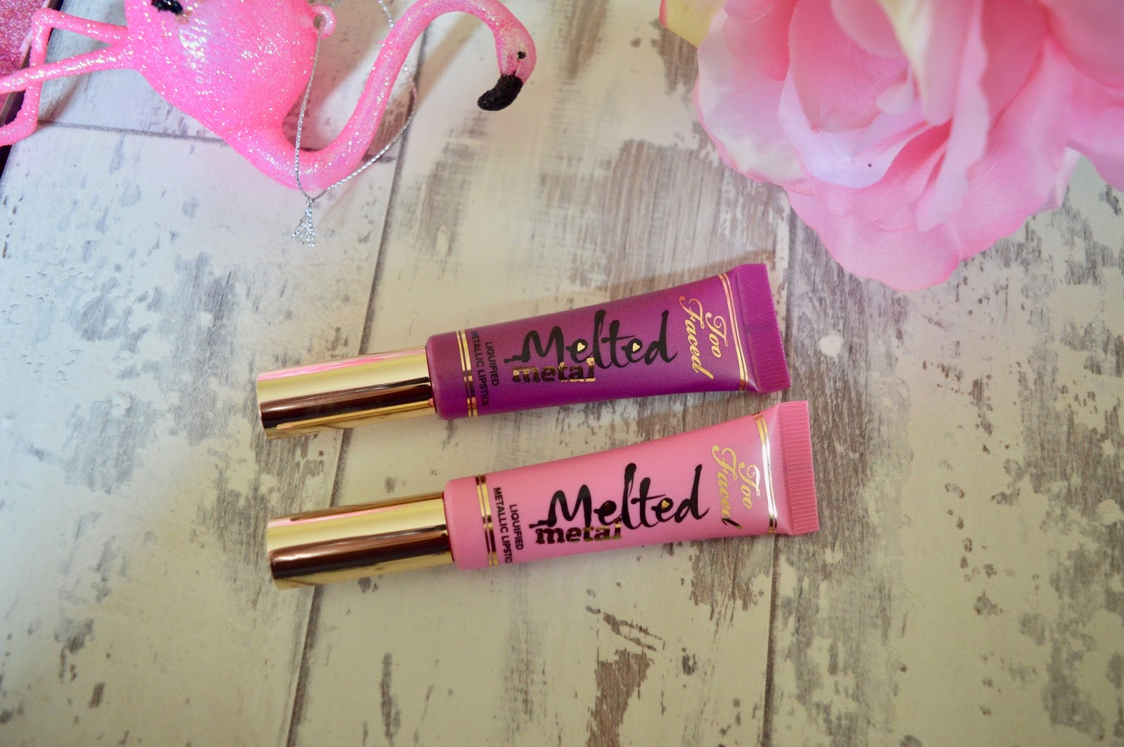 too faced melted metals lipsticks