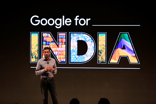 Google lays out vision and product updates in its long-term commitment to bringing Indians online including free WiFi in Railtel stations