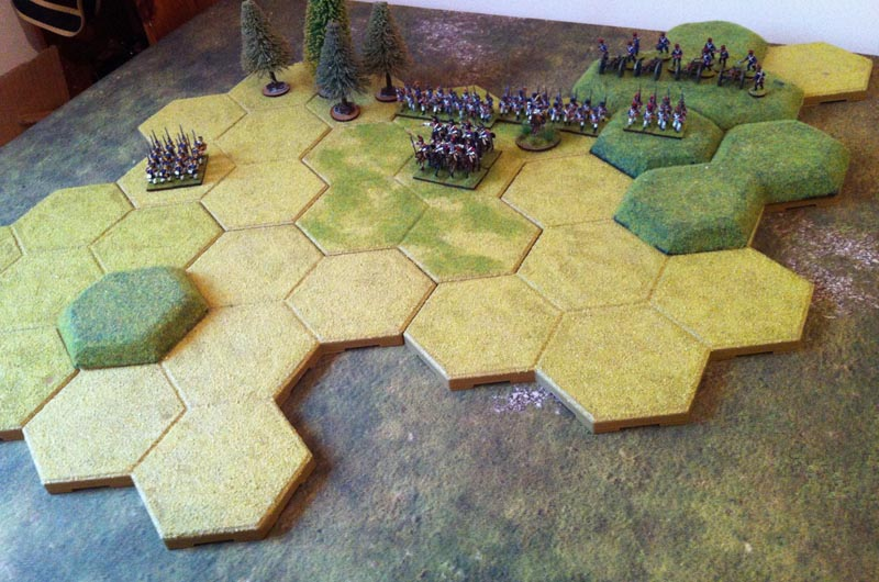 Wee Painted Men - Wargaming with Miniatures: Winter Warmer - TTC
