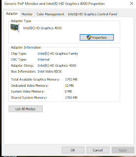 Dedicated Video Memory