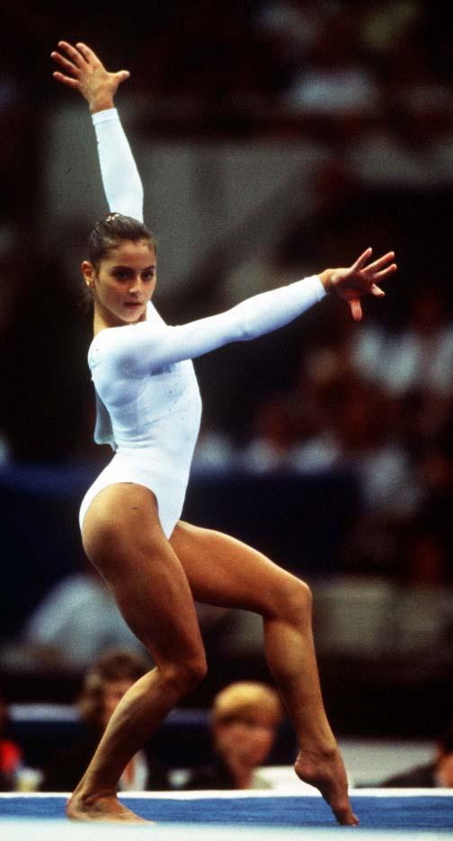 Gymnast Pix Dominique Helena Moceanu Canales