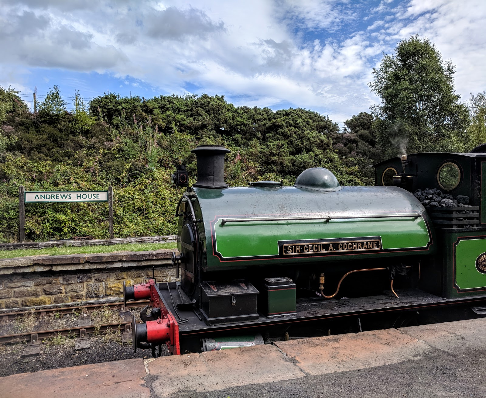 Tanfield Railway | Britain's Oldest Railway & a Picnic at Causey Arch - Andrew's House