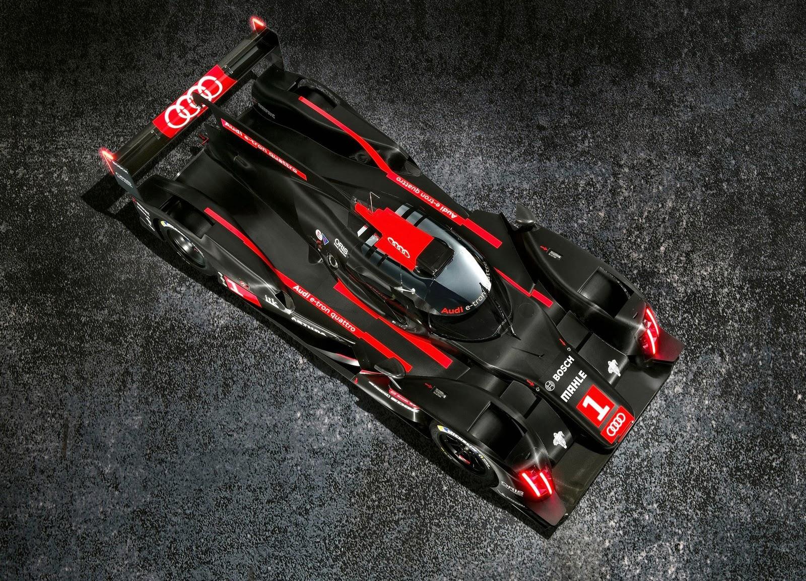 2014+Audi+R18+e tron+quattro+LMP1+Racecar+(2) Audi R18 e tron quattro LMP1 Racecar