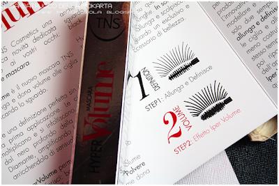 ciglia lunghissime HyperVOLUME Mascara by Tns Cosmetics