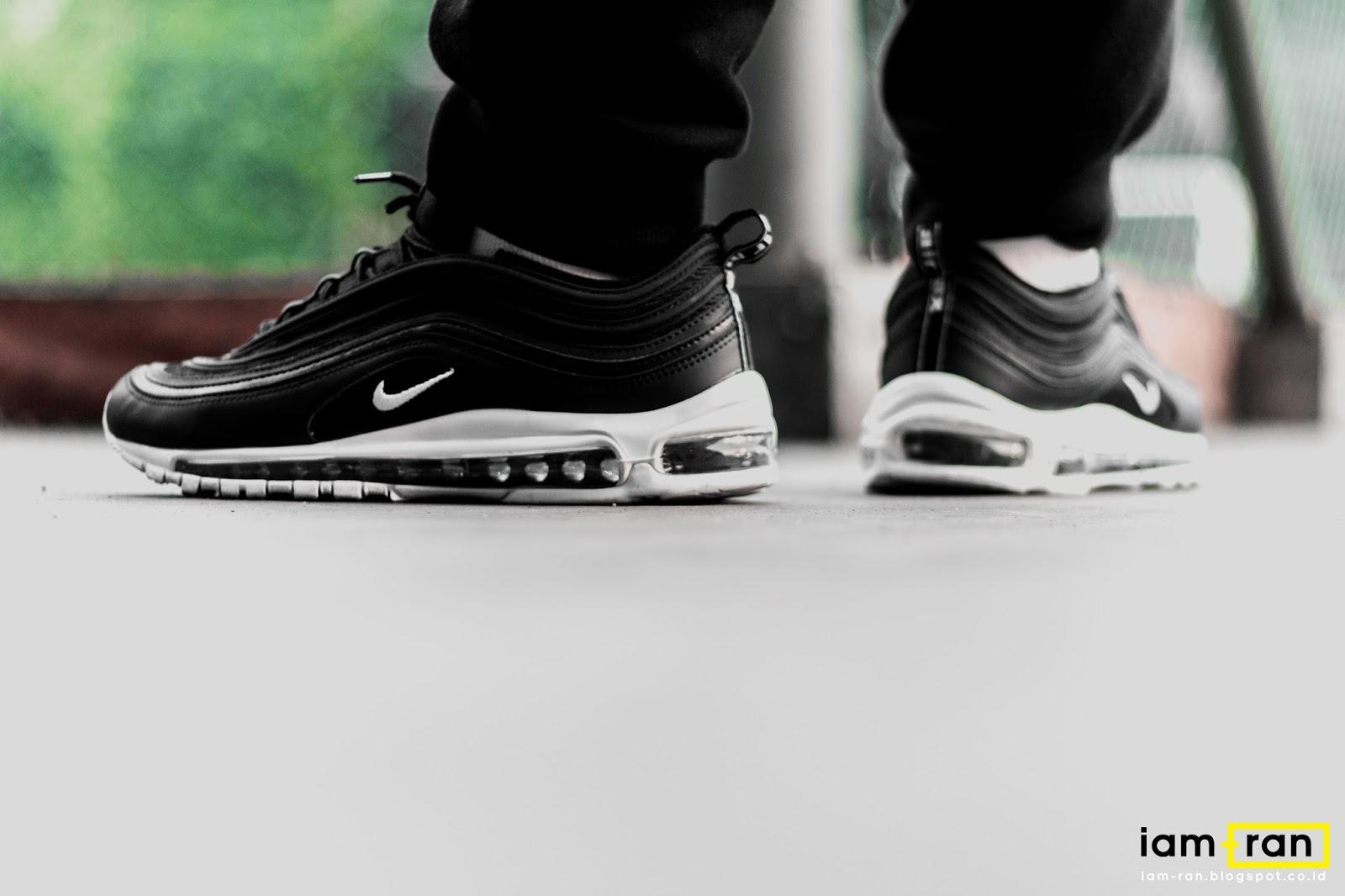 IAM RAN: ON FEET : Zulfikar Ali Nike air max 97 Black and