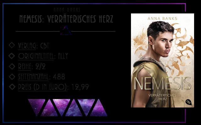 [Rezension] Nemesis: Verräterisches Herz - Anna Banks