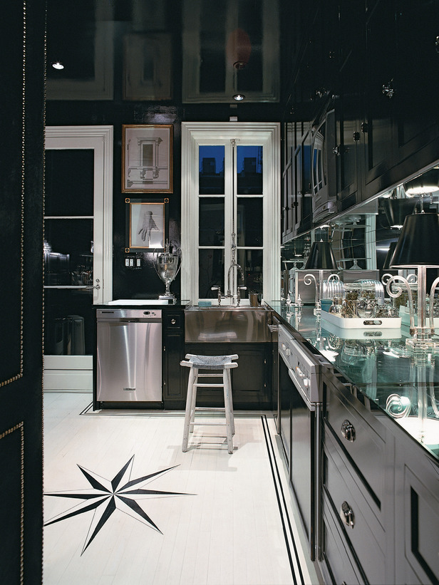 Antique Black Kitchen Cabinets Pictures