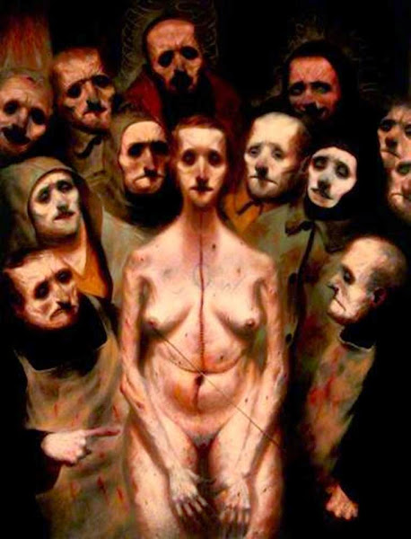 Ken Currie, Macabre Art, Macabre Paintings, Horror Paintings, Freak Art, Freak Paintings, Horror Picture, Terror Pictures
