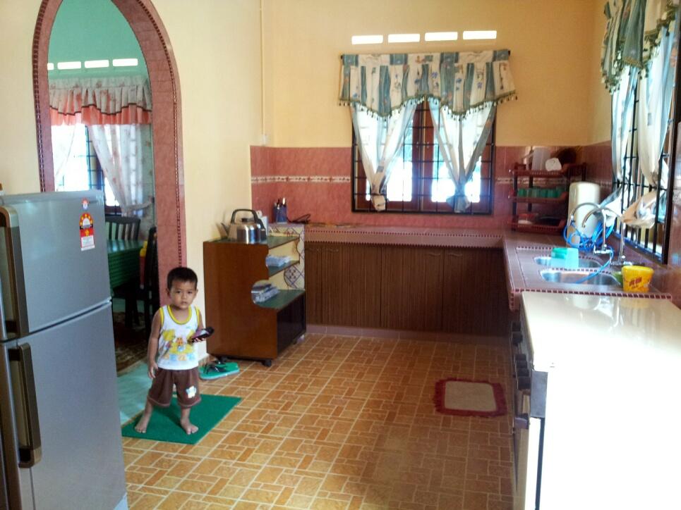 Ruang Dapur Eh Anak Sape La Tu