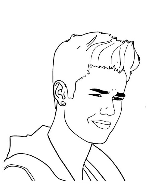 Justin Bieber March 2016 Justin Bieber Coloring Pages