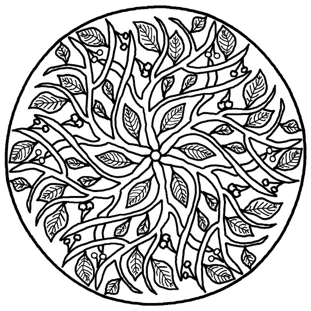 Realistic Mandala Coloring Page Has Free Mandala Coloring Pages For Adults  Printables