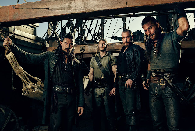 """FOX ACTION estreia a quarta temporada da série """"Black Sails"""" no mesmo dia que os EUA"""