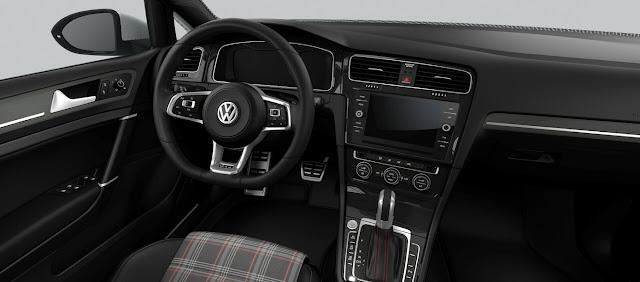 VW Golf GTI 2018 - Básico - interior