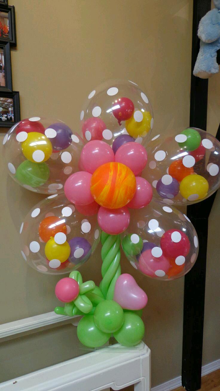 Aprende como meter globos dentro de otro globo - Bombas para decorar ...
