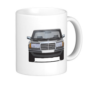 MB W123 coffee mug