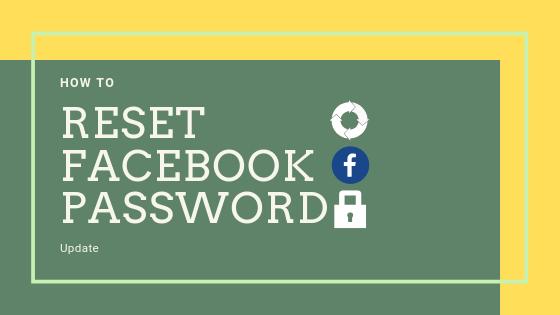 Facebook Password Reset<br/>