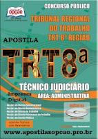 Apostila concurso TRT-PA/AP (8ª Região) Técnico Judiciário