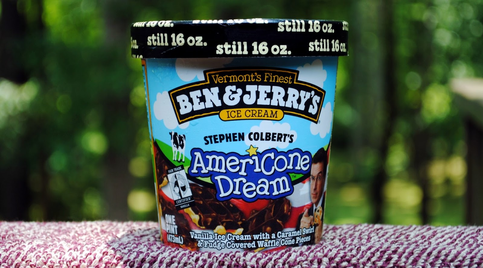 Food And Ice Cream Recipes Review Ben Jerry S Americone Dream Vanilla ice cream bars with caramel swirls and fudge covered waffle cone pieces, covered in dark chocolatey coating with waffle cone pieces. food and ice cream recipes blogger