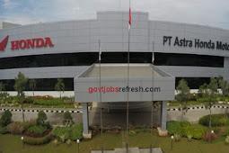 Lowongan Kerja Terbaru Bulan Oktober 2018 PT Astra Honda Motor (AHM) 2018