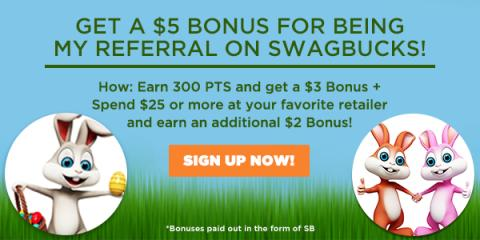 Image: Swagbucks is a rewards site where you earn points (called SB) for things you're probably doing online already, like searching, watching videos, discovering deals, and taking surveys
