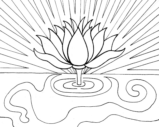 Free Printable Lotus Coloring Pages For Kids In Lotus Coloring Pages