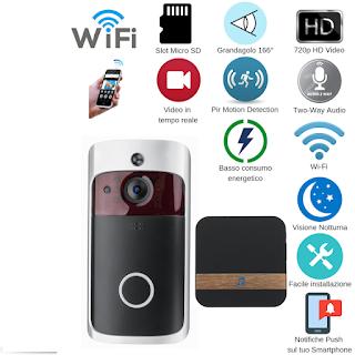 kit videocitofono porta wifi ip