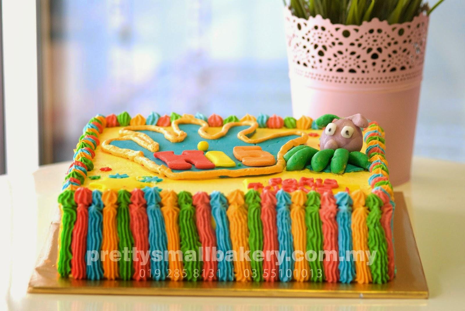 Kek Hari Jadi Hi 5 Prettysmallbakery