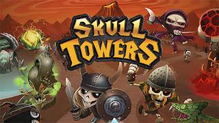 Skull Towers Castle Defense V0.1.7 MOD Apk ( Unlimited Money )